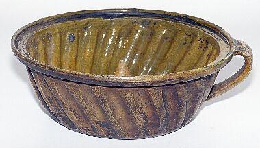 Kleine antike Gugelhupf- // Puddingform Ende 19 Jhd. Kupfer